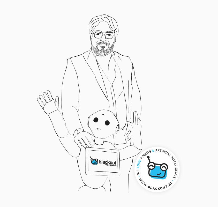 BREMEN AI Branchenbuch Blackout Technologies Sketch